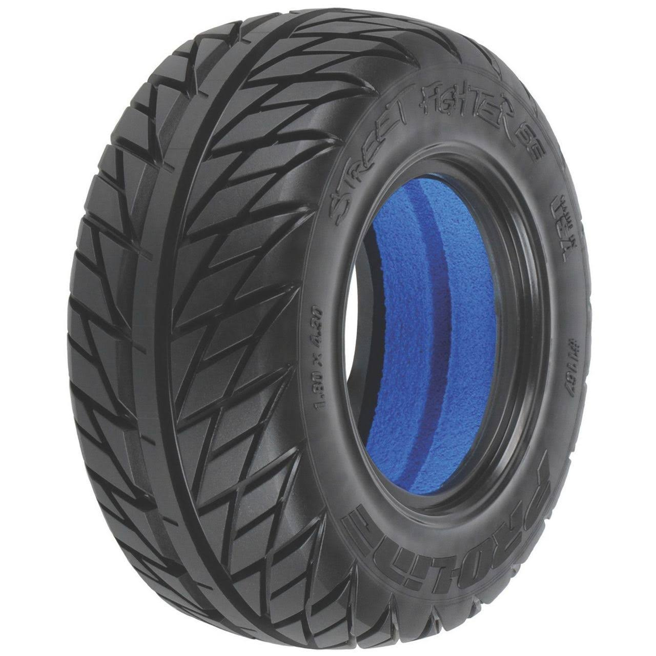 Pro-Line Racing Street Fighter Tyres - SC 5.6cm, 7.6cm, M2, Medium