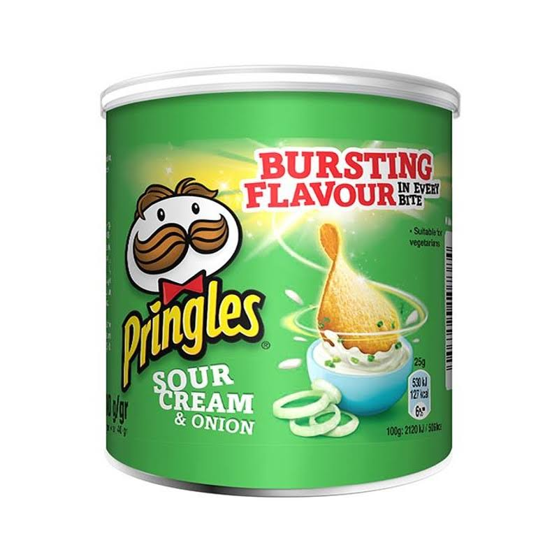 Pringles Crispsy Chips - Sour Cream and Onion, 40g