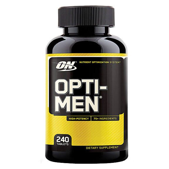 Optimum Nutrition Opti-Men Supplement - 240 Tablets