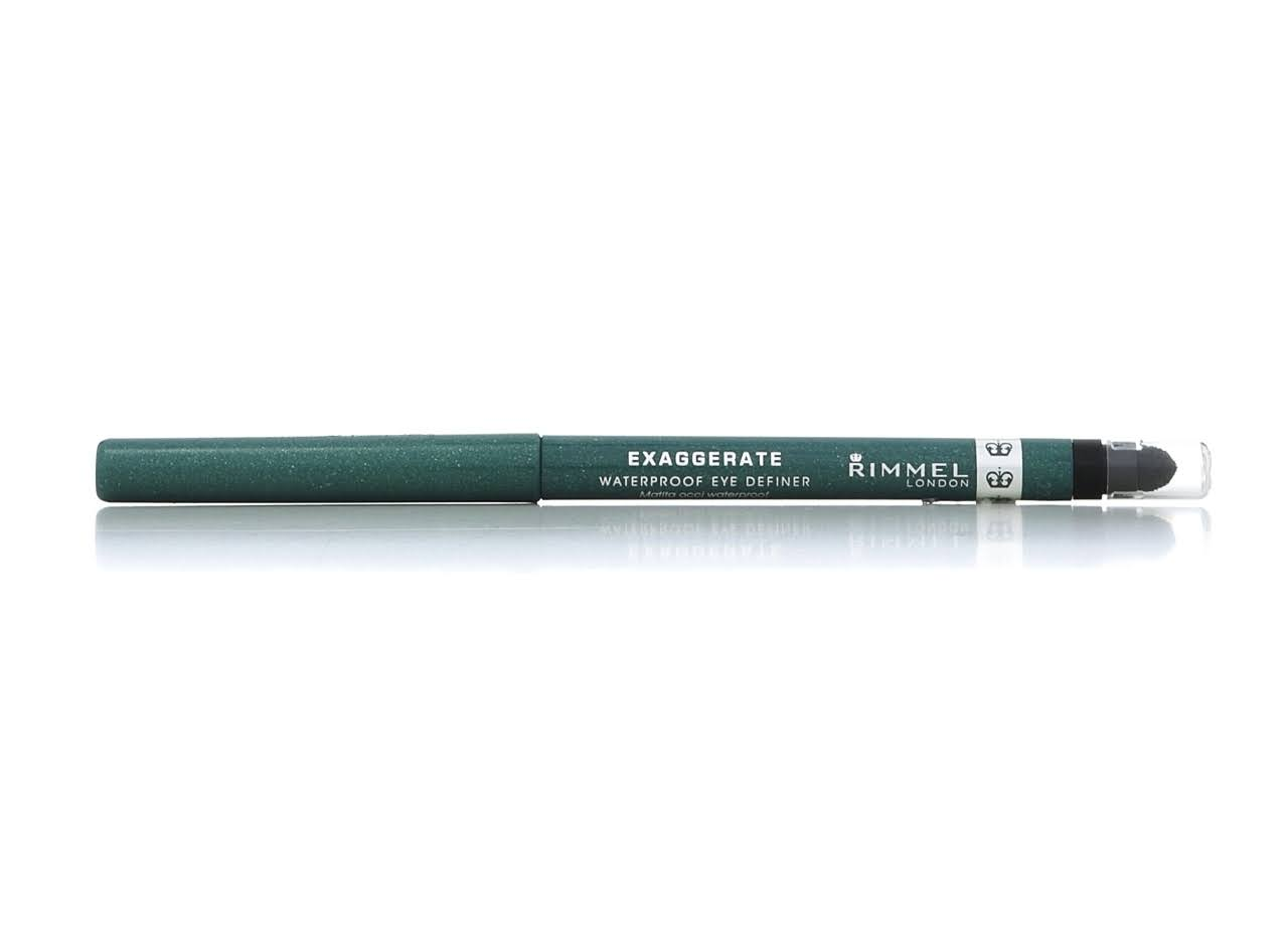 Rimmel Exaggerate Waterproof Eye Definer - Emerald Sparkle