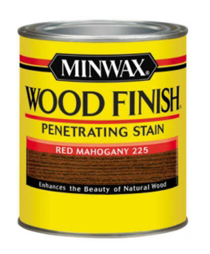 Minwax Wood Finish Interior Wood Stain - 225 Red Mahogany, 32oz