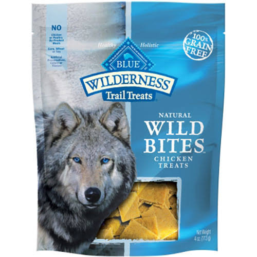 Blue Buffalo Wilderness Wild Bites Trail Treats - Chicken, 113g