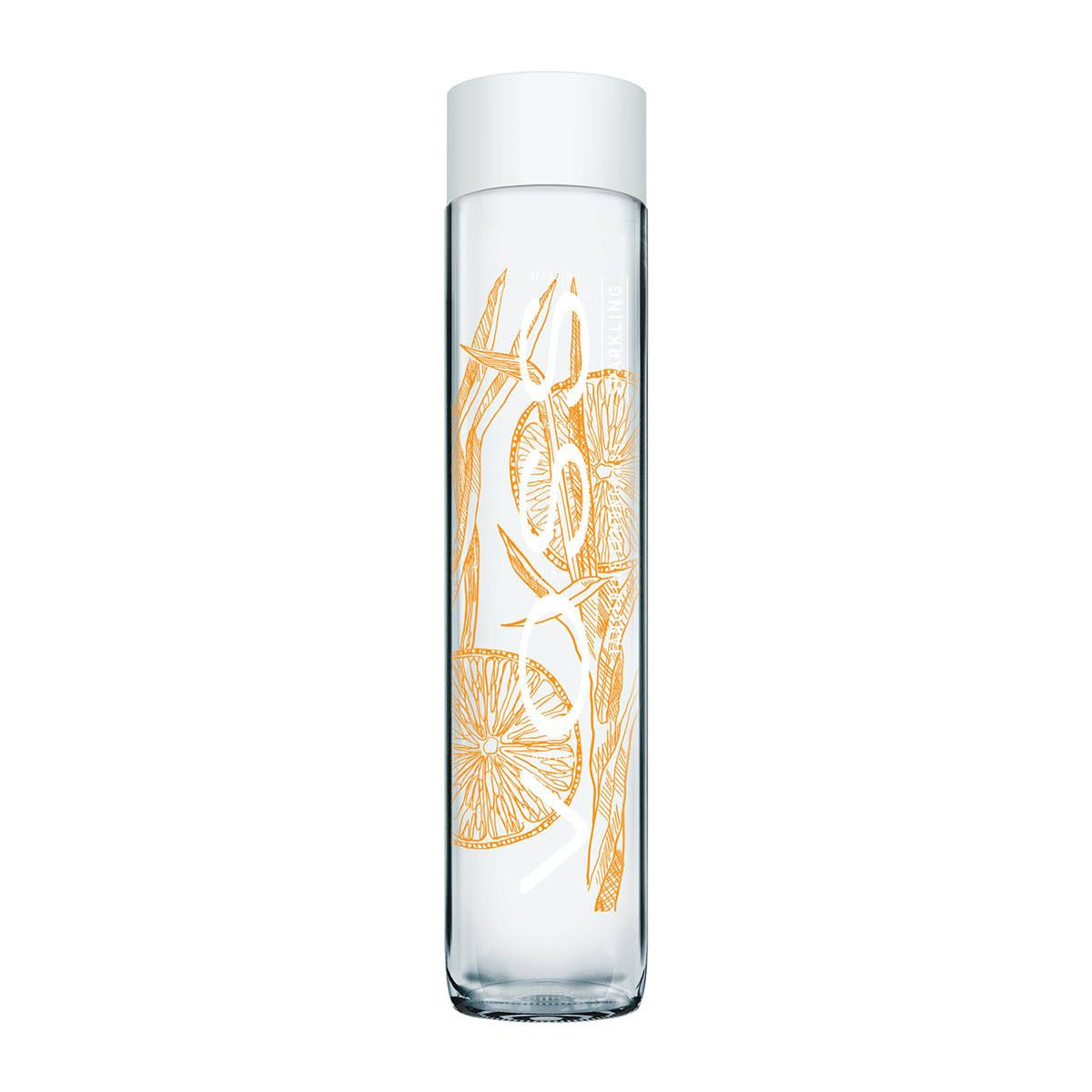 Voss Sparkling Water - Tangerine Lemongrass, 375ml