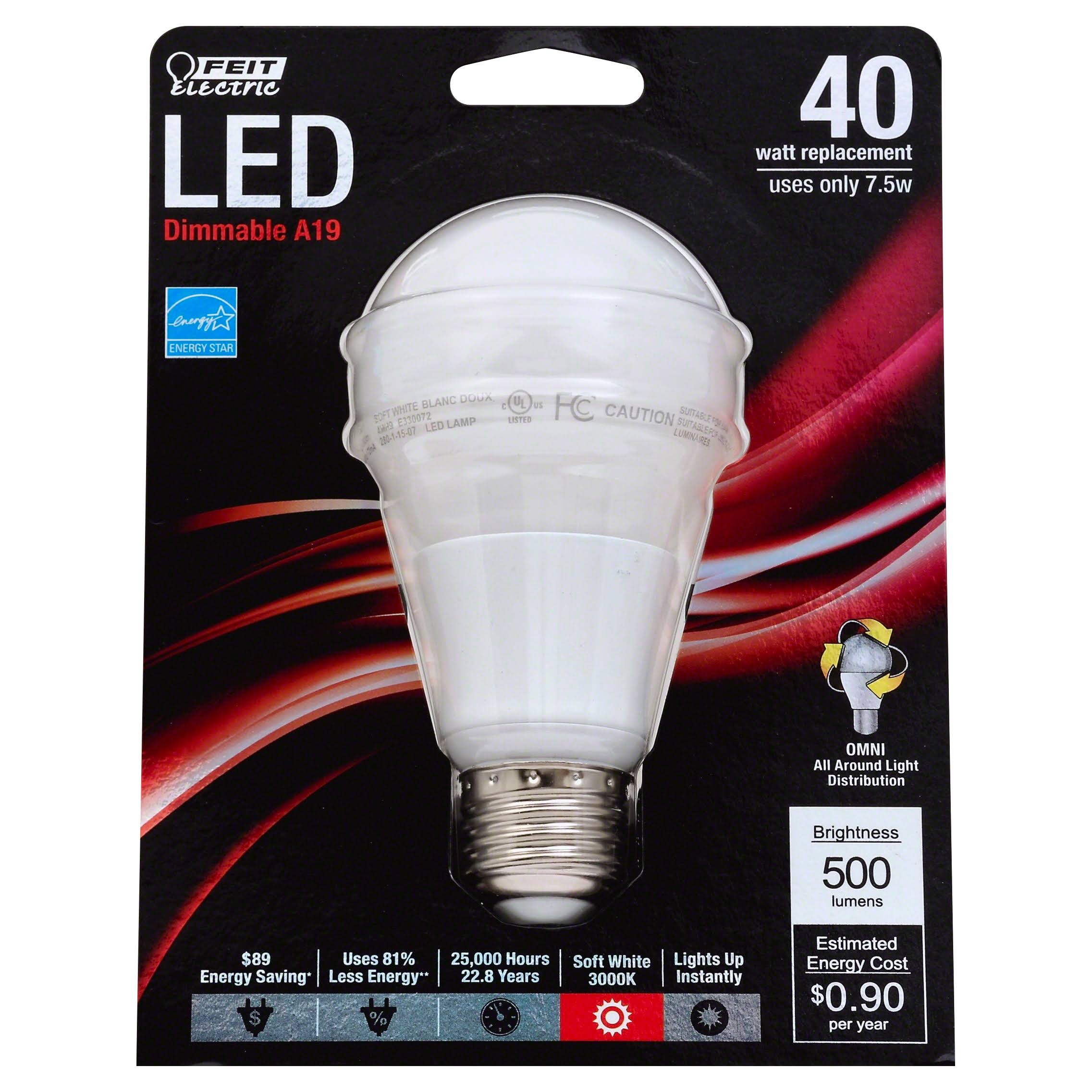 Feit Electric LED Dimmable Light Bulb - 40w