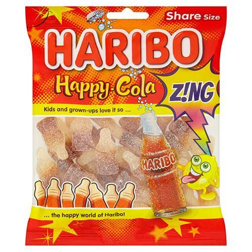 Haribo Happy Cola Gummy Candies - 140g