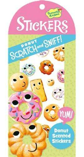 Peaceable Kingdom Scratch and Sniff Donut Scented Sticker Pack