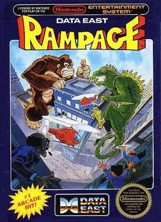 Rampage [Entertainment System Game]