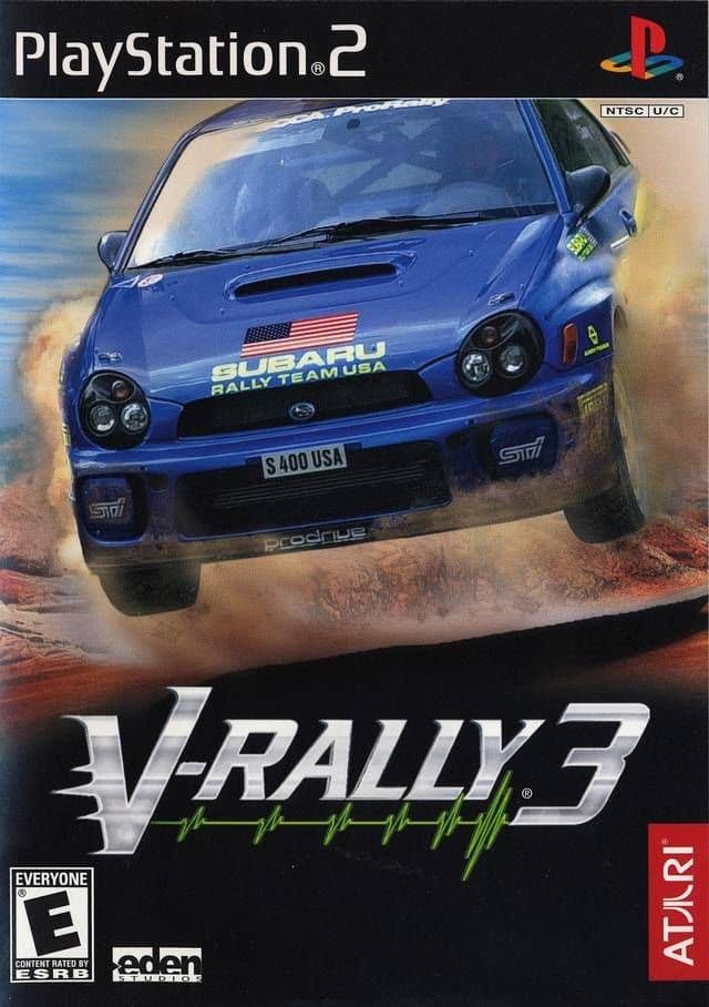 V-Rally 3 Video Game - PlayStation 2