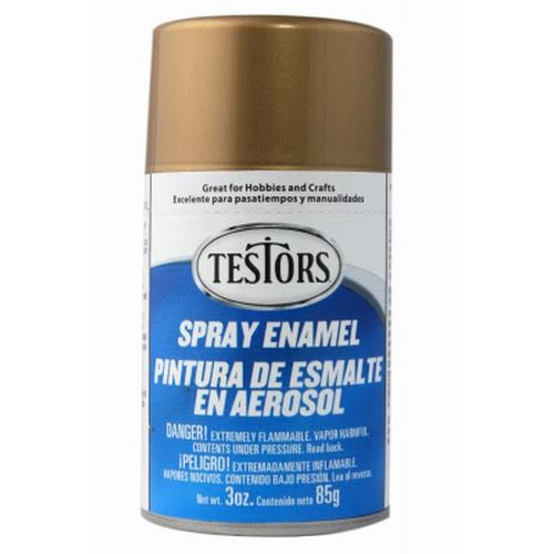 Testors Gold Enamel Spray Paint - 3oz