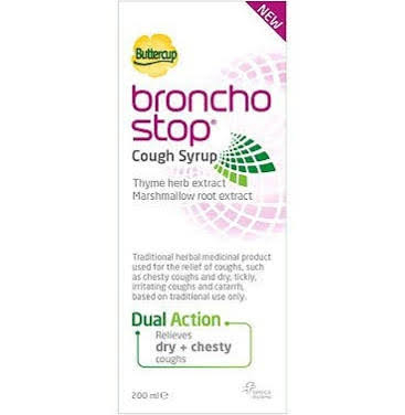 Bronchostop Cough Syrup GSL 200ml
