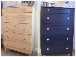 Ikea Tarva 6 Drawer Dresser by Simple Ikea Tarva Chest Makeover With Trim And Paint Navy Paint