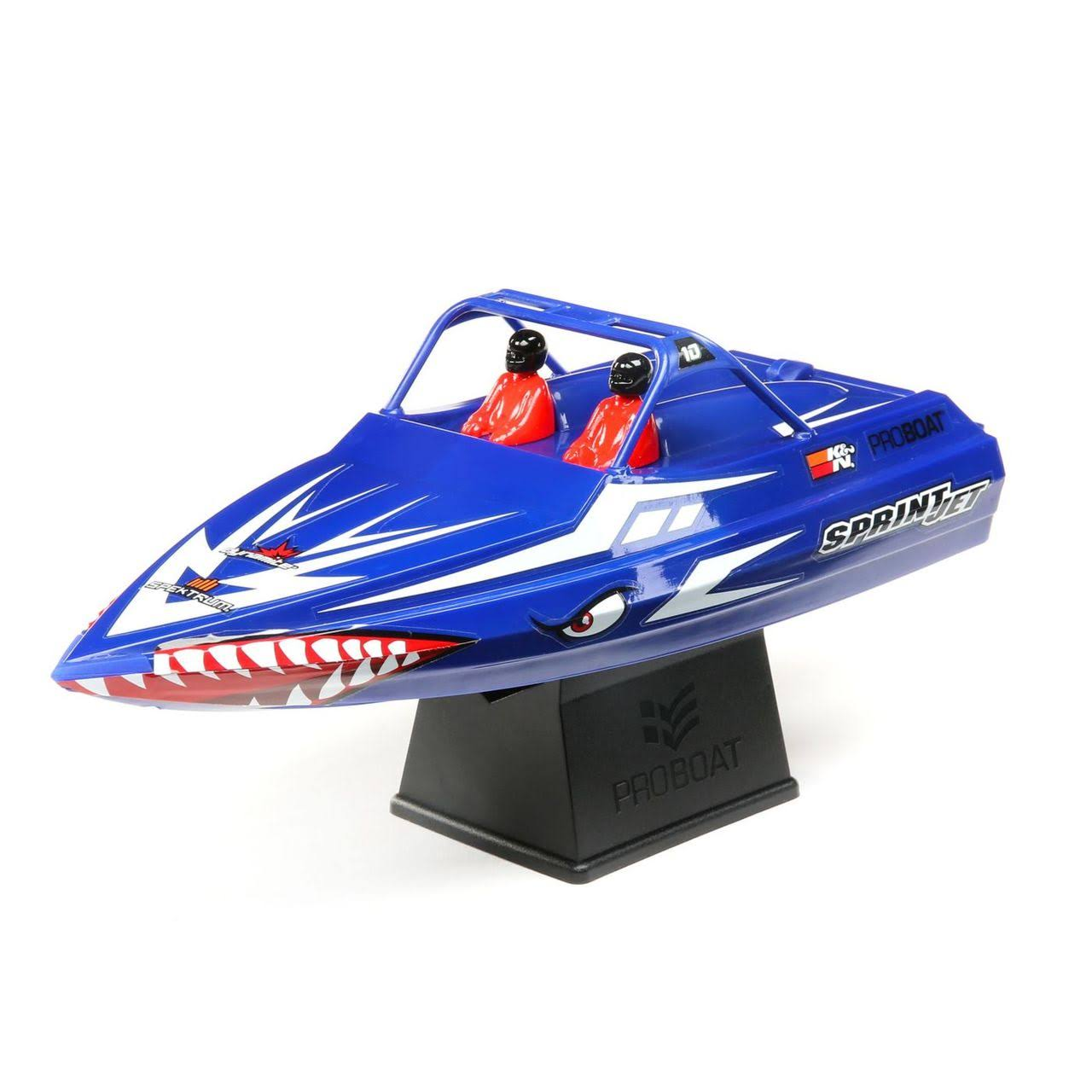 Pro Boat Jetsprint Jet Boat RC Toy - Blue
