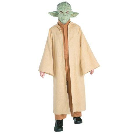 Rubie's Costume Star Wars Boys Deluxe Yoda Halloween Costume - Large