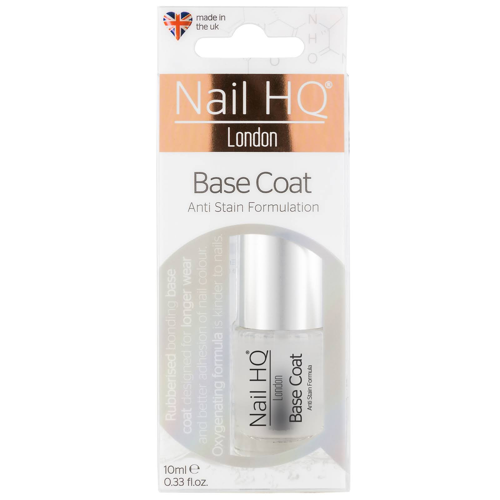 Nail HQ Base Coat - 10ml