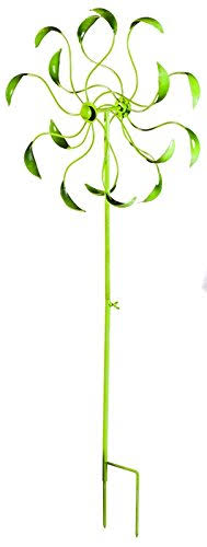 Playful Brights Kinetic Garden Stake Green