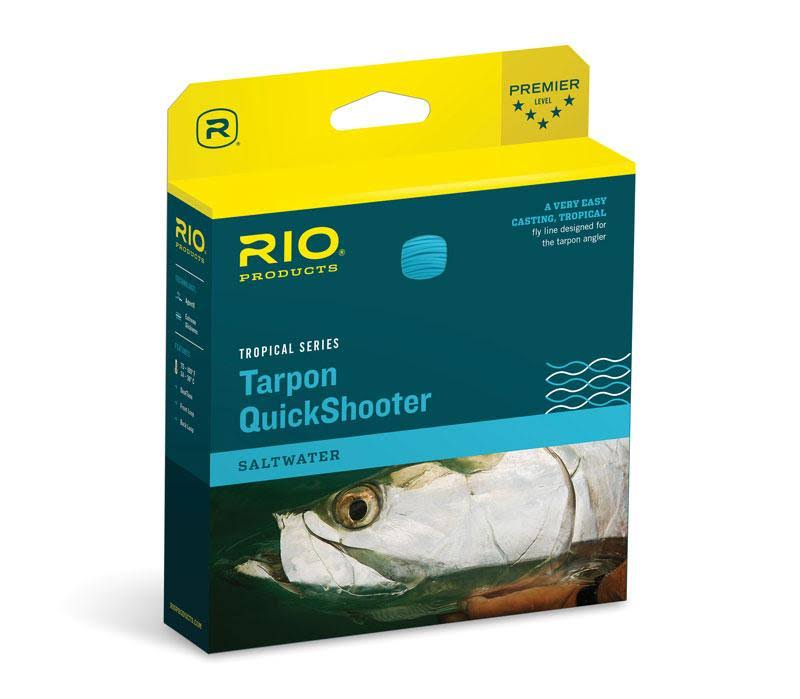 Rio Tarpon Quickshooter WF Tropical Floating Fly Line - Clear Sink