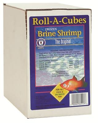 San Francisco Bay Brand Fish Food - Frozen Brine Shrimp Brine Shrimp