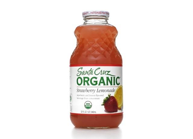 Santa Cruz Organic Strawberry Lemonade