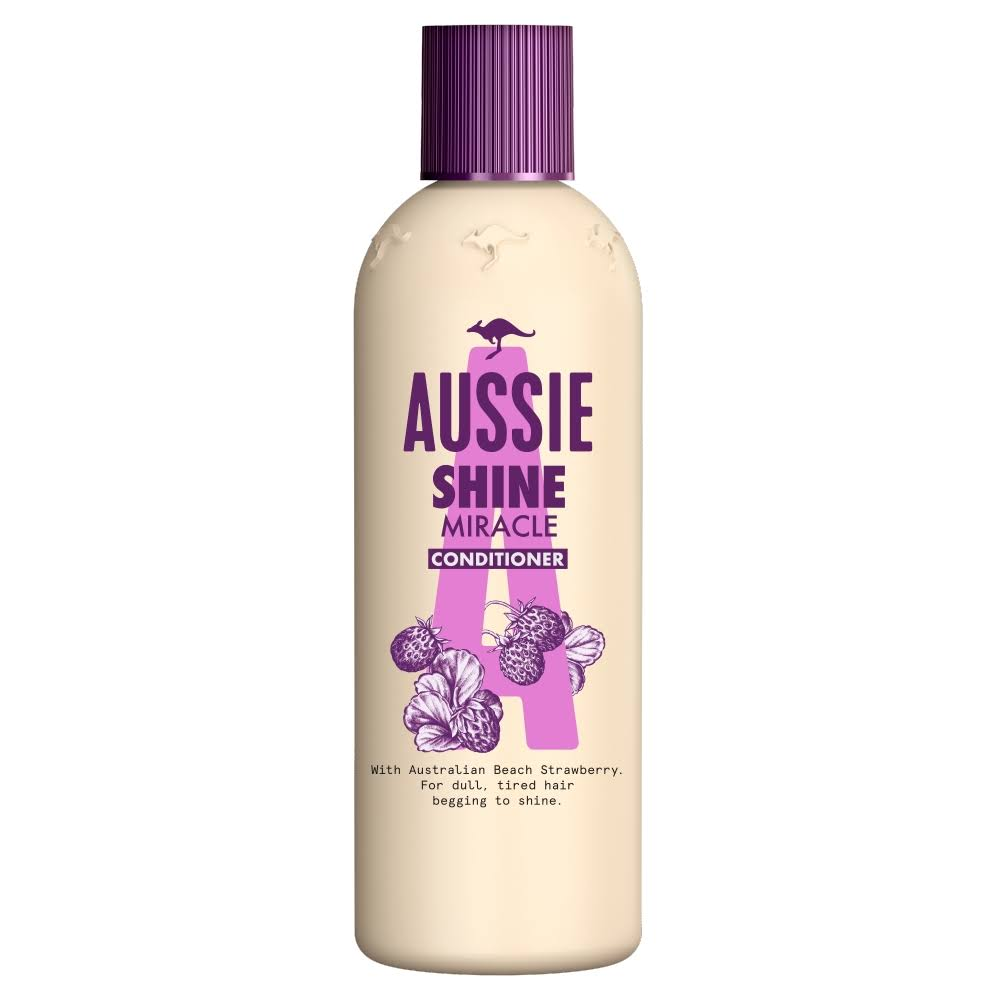 Aussie Miracle Shine Conditioner - Dull Hair Begging To Shine, 250ml