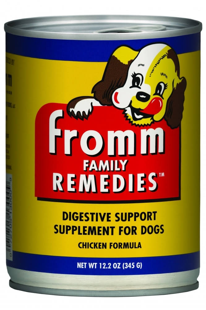 Fromm Family Remedies Digestive Support Supplement for Dogs - Chicken