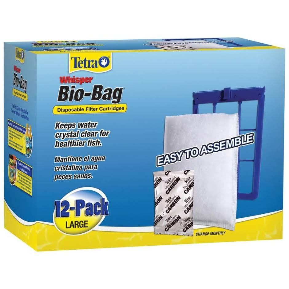 Tetra Whisper Bio-Bag Filter Cartridges