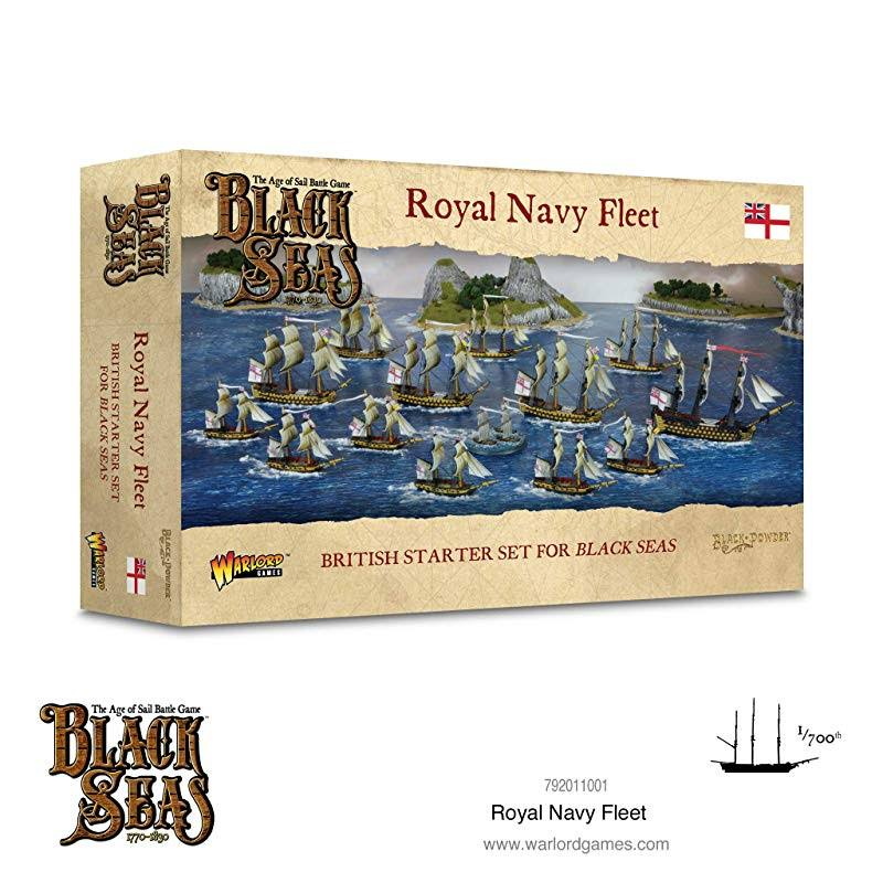 Black Seas: Royal Navy Fleet Starter Set