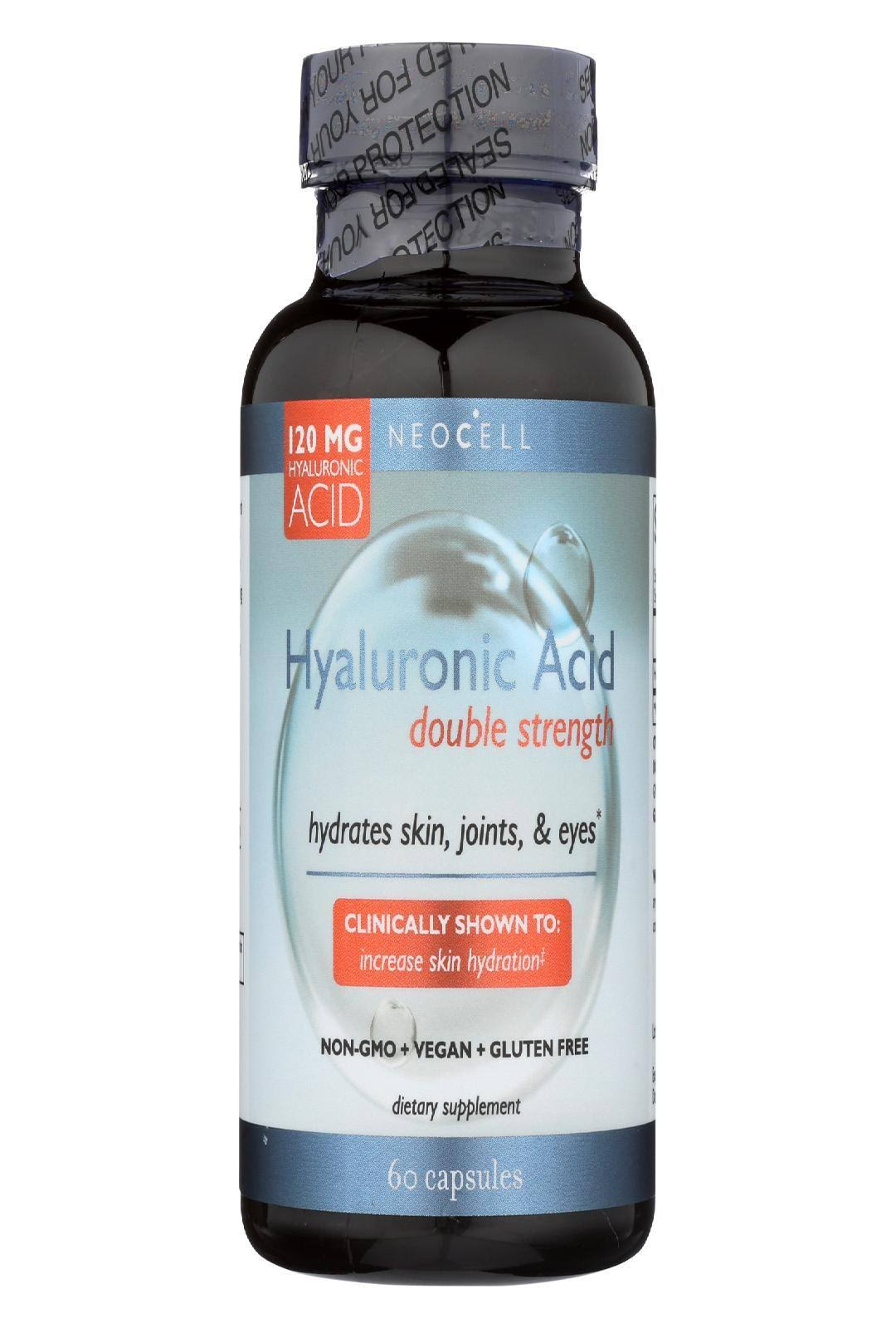 NeoCell Hyaluronic Acid Double Strength - 120mg, 60 ct