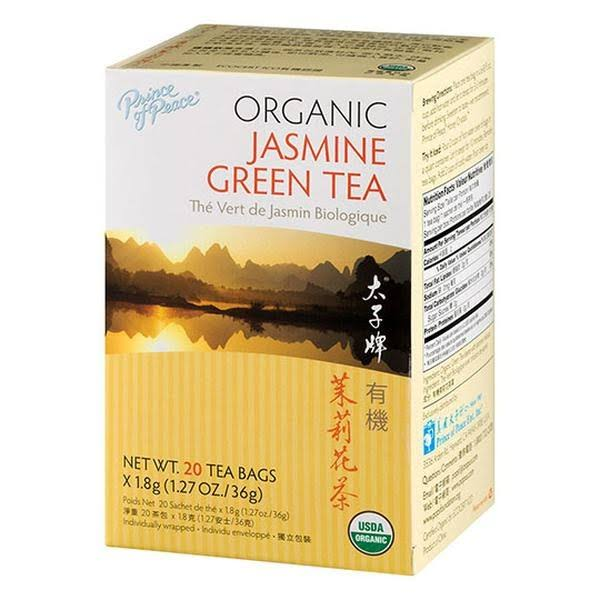 Prince of Peace Organic Jasmine Green Tea - 20ct, 0.02lbs