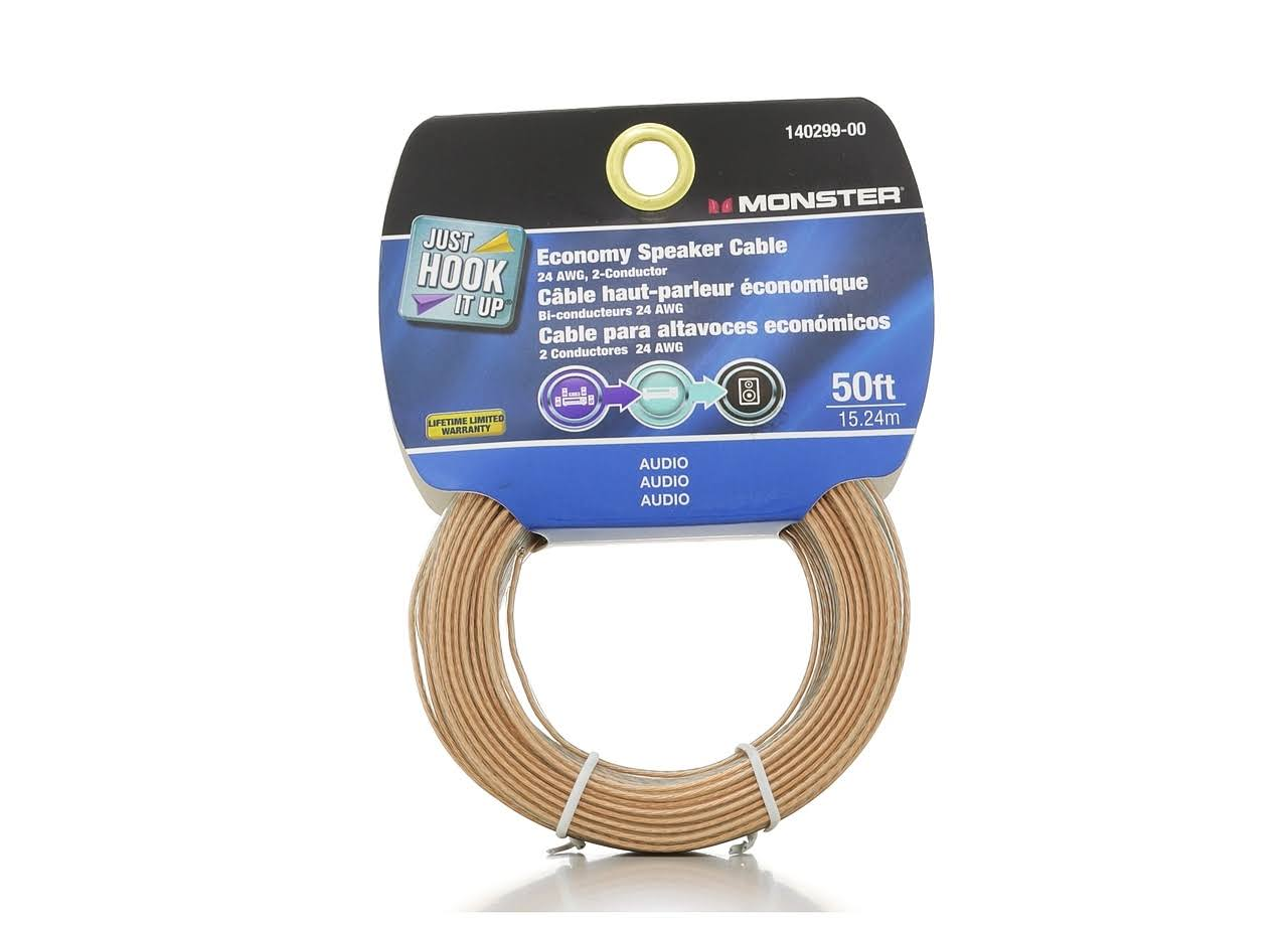 Monster Economy Speaker Cable - 15.24m