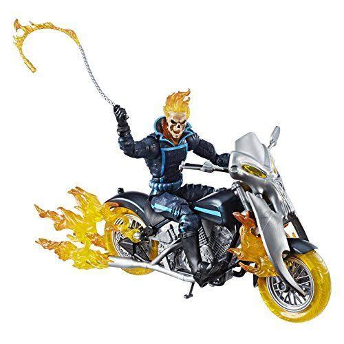 Hasbro Marvel Legends Ghost Rider Action Figure - Ghost Rider with Flame Cycle