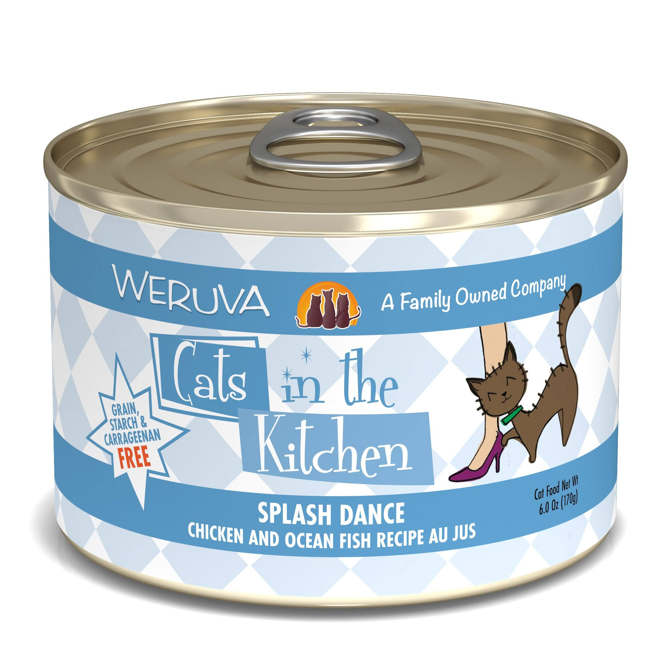 Weruva Splash Dance - Chicken & Ocean Fish - 6oz