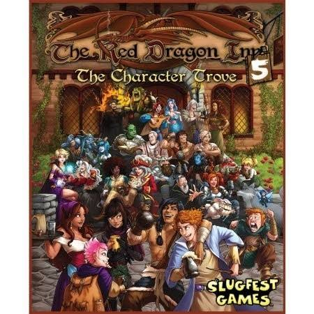 Slugfest Games The Red Dragon Inn The Character Trove 5 Board Game