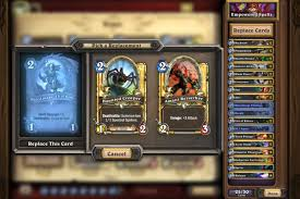 Hearthstone Beginner Decks Mage by Hearthstone Deck Recipes Are An Easier Way To Build Smart Decks