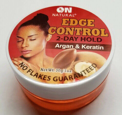 on Natural Edge Control Argan & Keratin Hair Gel 1 oz