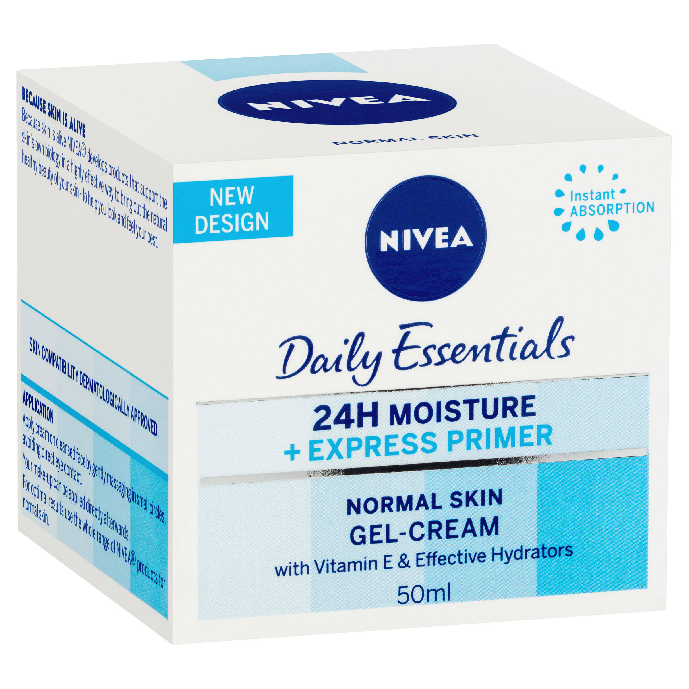 Nivea Daily Essentials Express Hydration Primer - 50ml
