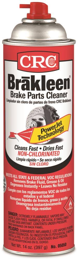 CRC Brakleen 05050 Brake Parts Cleaner - 50 State Formula, 14oz