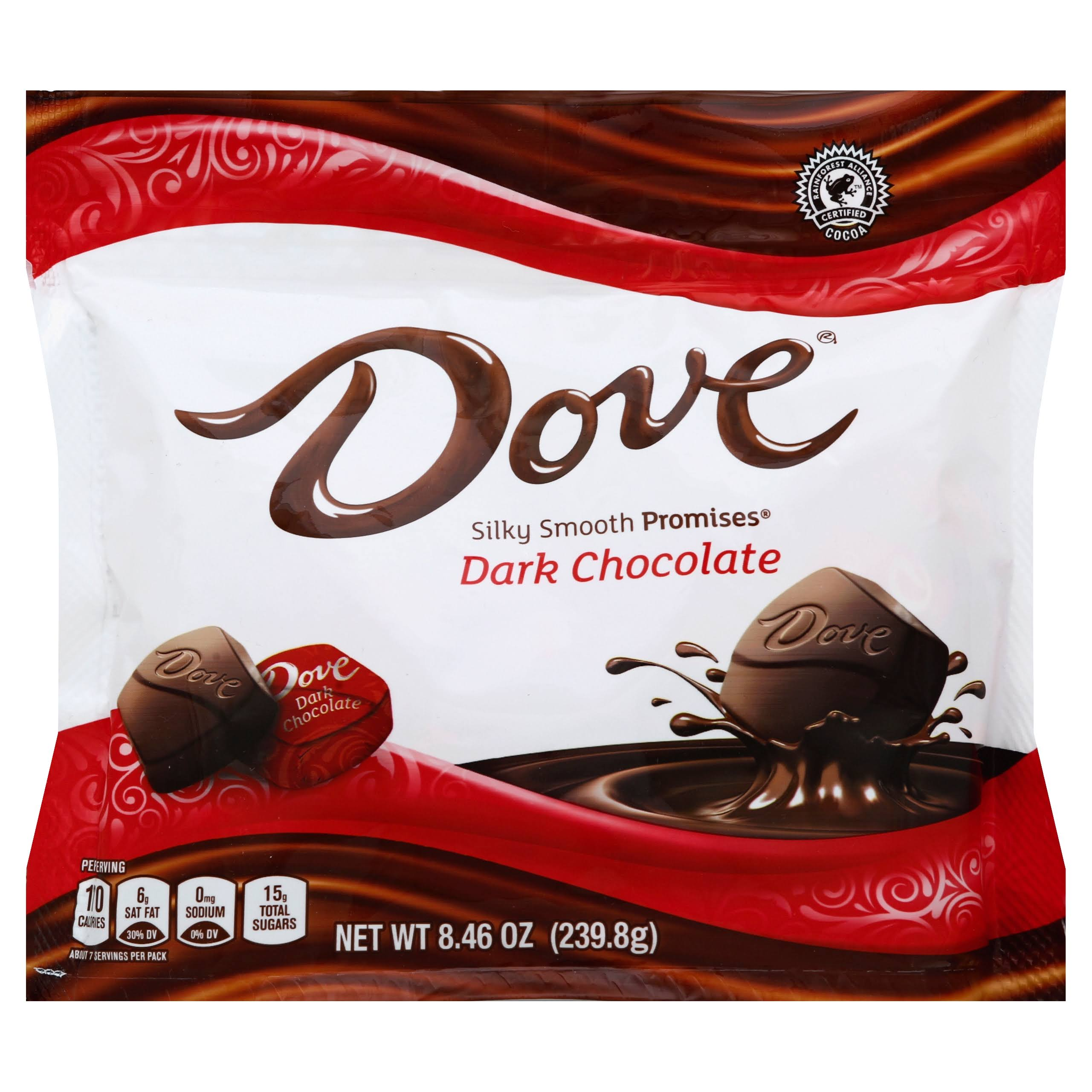 Dove Promises Dark Chocolate Candies - 8.5oz