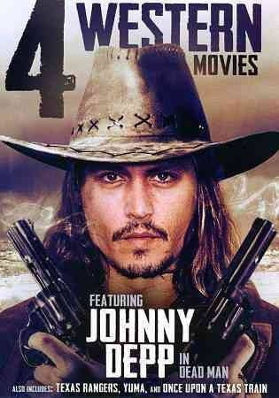 4-Movies Western: Featuring Johnny Depp in Dead Man DVD