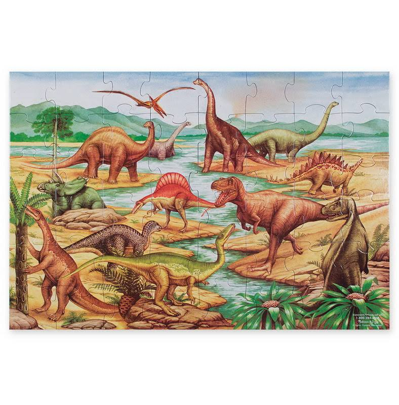 Melissa & Doug Dinosaurs Floor Puzzle - 48 Pieces