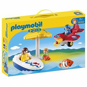 Playmobil 1.2.3 Fun In The Sun