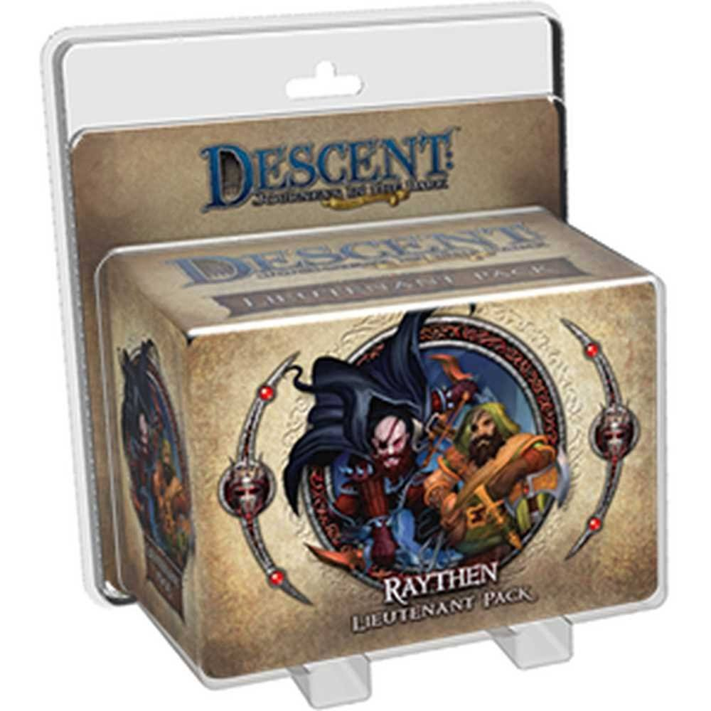 Descent 2nd Edition : Raythen Lieutenant Pack - Fantasy Flight Games