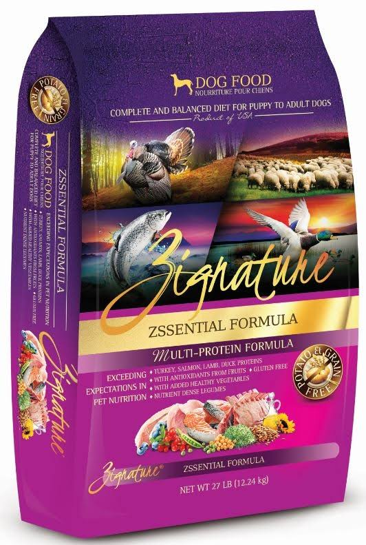Zignature Zssential Formula Dog Food - 4lbs