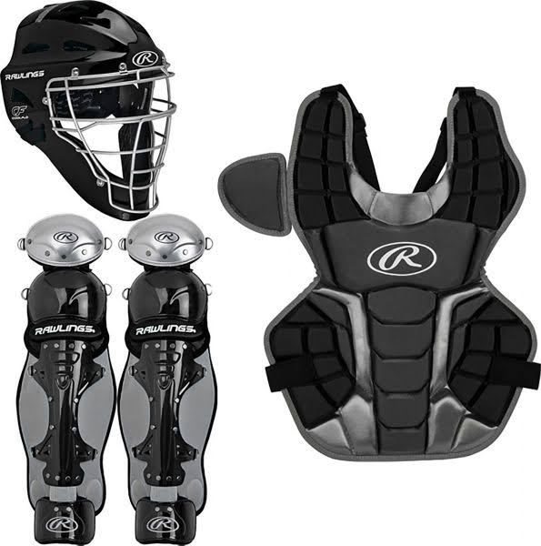 Rawlings Adult Renegade 2.0 Catcher Set - Black, S