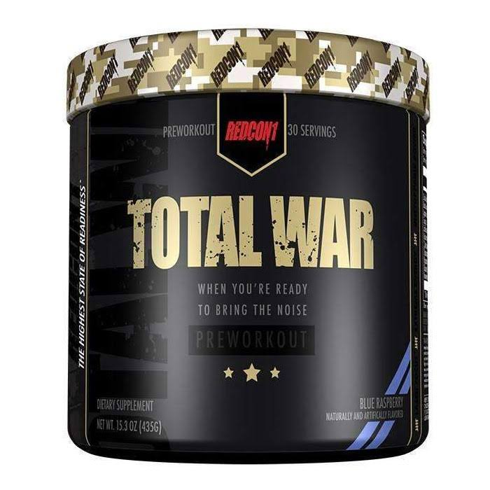 Redcon1 Total War - 30 Servings - Blue Raspberry