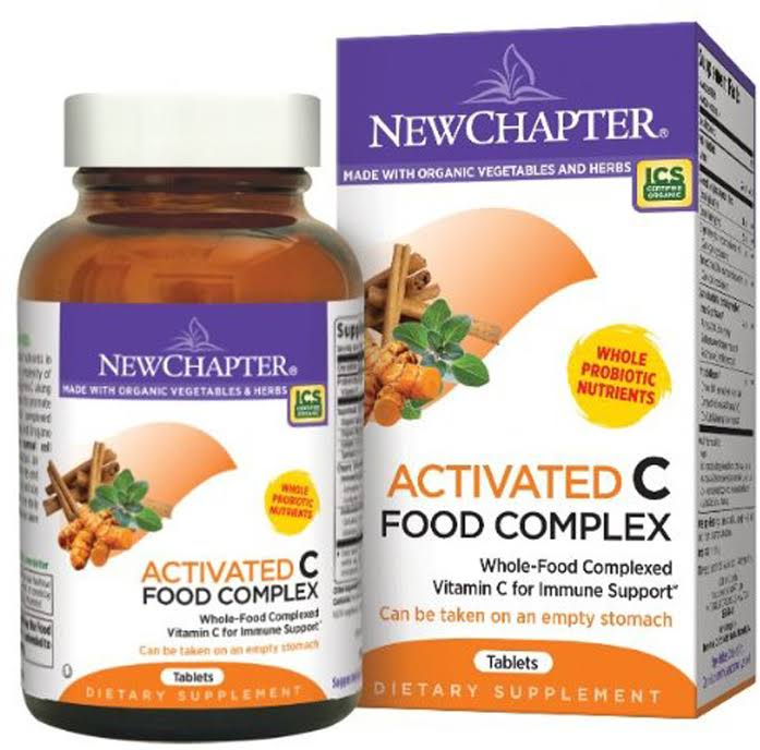New Chapter Organics Activated C Food Complex Tablets - x90
