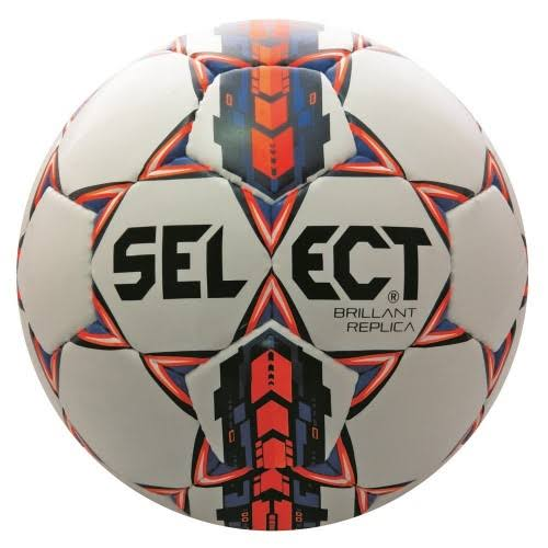 Select Brilliant Super Replica Soccer Ball White/Black 4