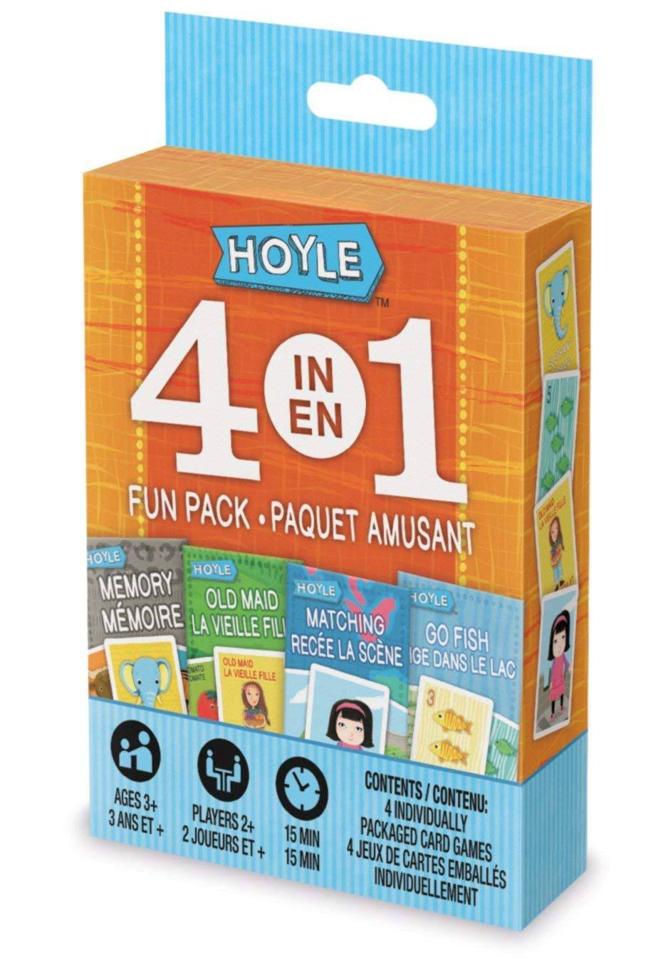 Hoyle 4-in-1 Fun Pack Classic Card Games