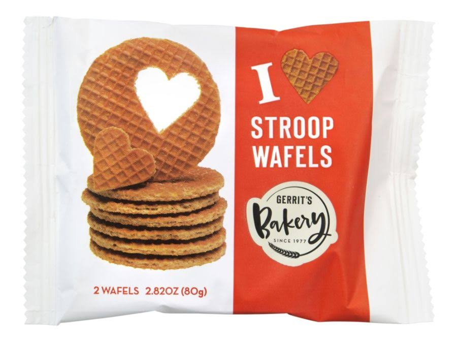 Gerrit's Dutch Bakery Stroop Wafels - 2.82oz