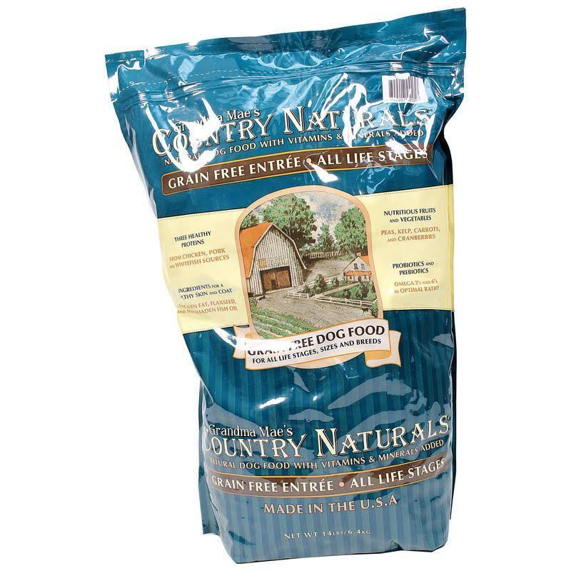 Grandma Mae S Country Nat Grain Free Dog Food Chicken 14 lb