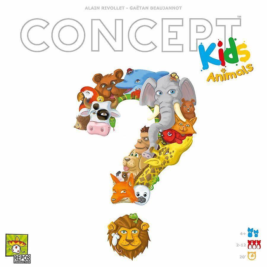 Concept: Kids Animals Board Game